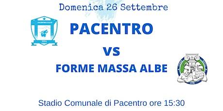 PACENTRO CALCIO vs FORME MASSA ALBE biglietti