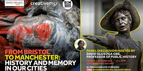From Bristol to Manchester: history and memory in our cities tickets