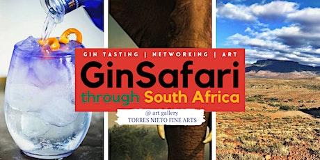 GinSafari through South Africa | Gin Tasting, Networking & Art tickets