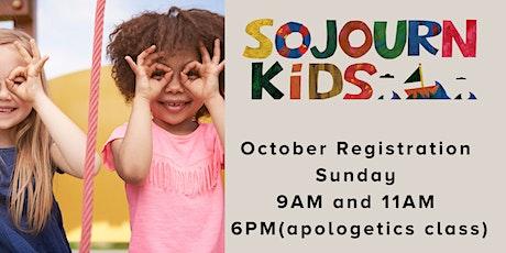 October 31, 2021  Sunday Service Registration tickets