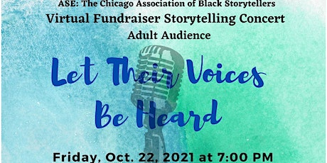 Virtual Fundraiser Storytelling Concert: Let Their Voices be Heard tickets