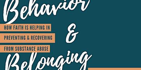Behavior and Belonging tickets