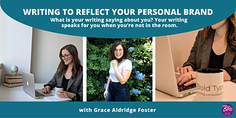 Writing to Reflect Your Personal Brand tickets
