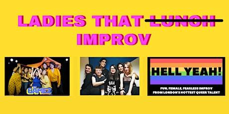 HOOPLA: BRA presents Ladies That Improv! tickets