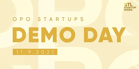 OPO Startups Demo Day 2021 - EVENT tickets