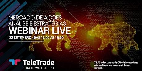 Webinar LIVE - Mercado de Ações: Análise e Estratégia bilhetes