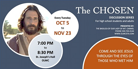 The Chosen Discussion Series tickets