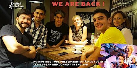 Conversação em inglês no Rio de Janeiro ( Copacabana) ingressos