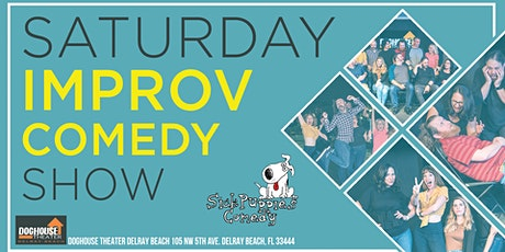 Sick Puppies Improv Comedy Show in Delray Beach tickets