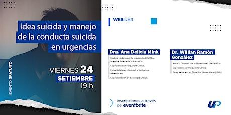 IDEA SUICIDA Y MANEJO DE LA CONDUCTA SUICIDA EN URGENCIAS. entradas
