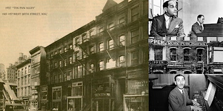 'NYC's Tin Pan Alley: The Birthplace of America's Music Industry' Webinar tickets