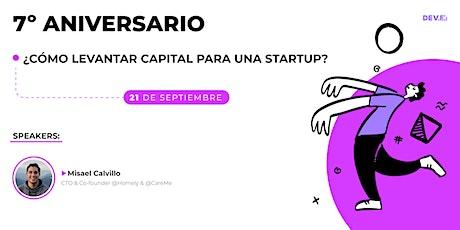 ¿Cómo levantar capital para una startup? entradas