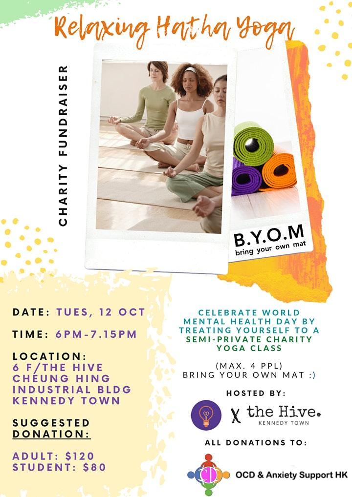 Charity Fundraiser - Relaxing Hatha Yoga image