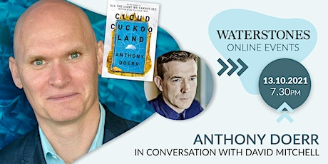 Anthony Doerr in conversation with David Mitchell tickets