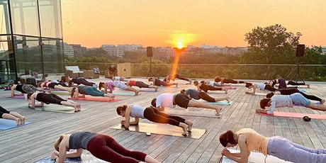 Sunset Pilates & Sangria from House of Sweden Rooftop tickets