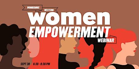 Womens Empowerment Webinar tickets