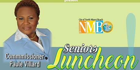 Commissioner Paule Villard Senior's Luncheon tickets