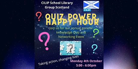 SLG Scotland x Libraries Week - Quiz Power, Happy Hour tickets