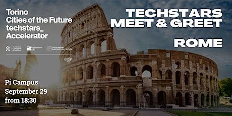 Techstars Meet & Greet - Rome biglietti