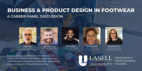 Business & Product Design in Footwear: Career Panel Discussion tickets