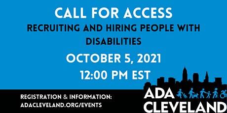 Recruiting and Hiring People with Disabilities tickets