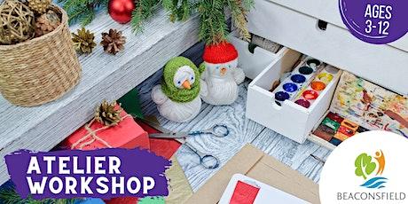 Brico de Noël en famille / Family Christmas Craft billets