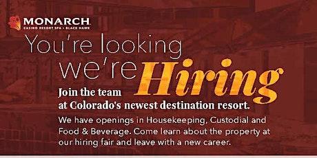 Job Fair - Monarch Casino Resort Spa tickets