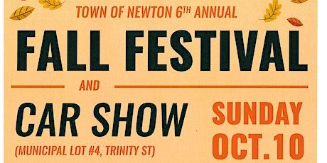 6th Annual Fall Festival and Car Show tickets