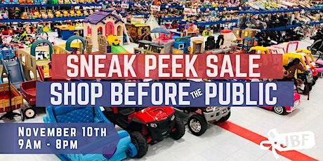 Sneak Peek Sale   BEST DEAL DAY tickets