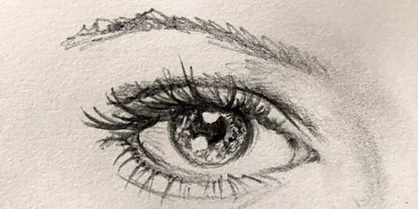 Pencil Drawing Class; Portraits, Sketching and drawing faces and features tickets