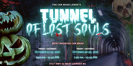 Tunnel Of Lost Souls Haunted Car Wash tickets