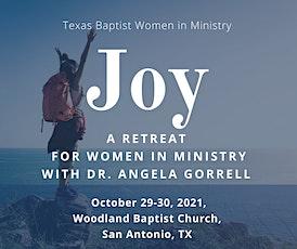 Joy: A  Retreat for Women In Ministry tickets