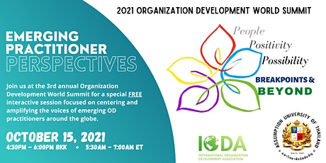 OD World Summit - Emerging Practitioner Perspectives tickets