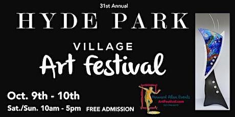 31st Annual Hyde Park Village Art Fair tickets