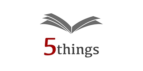 5Things, October 2021 tickets