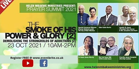 The Smoke Of His Power & Glory part 2 tickets