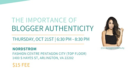 DC Bloggers Meetup: The Importance of Authenticity for Bloggers & Creatives tickets