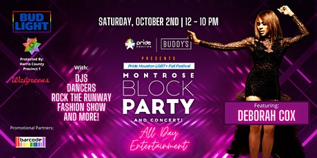 Montrose Block Party tickets