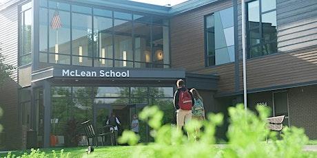 McLean School Open House tickets