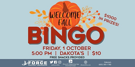 EAFB - Welcome Fall Bingo tickets