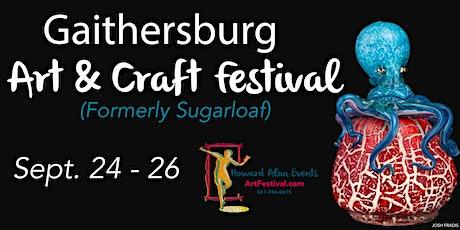 Gaithersburg Art and Craft Festival tickets
