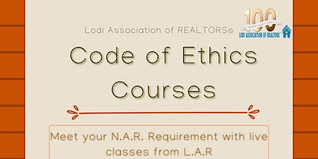 Fall Code of Ethics Course - LODI tickets