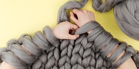 Arm Knit a Throw Workshop tickets