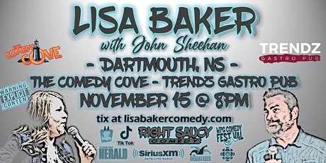Lisa Baker - Right Saucy Comedy - Dartmouth, NS tickets