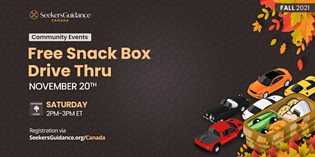 Free Snack Box Drive Thru tickets