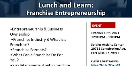 USO Lunch and Learn: Franchise Entrepreneurship tickets
