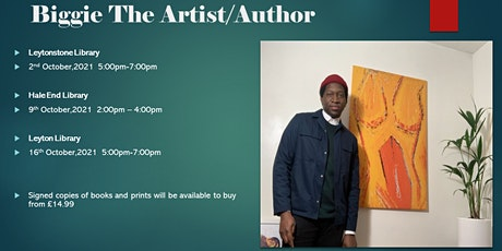 Meet The Author/Artist - Biggie The Artist (Leyton Library) tickets