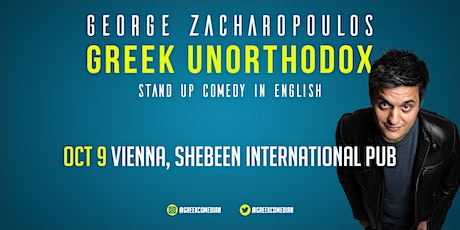 George Zacharopoulos (GR) - English Stand-Up Comedy Night Tickets