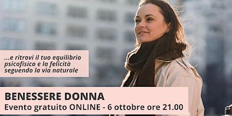 Benessere Donna biglietti