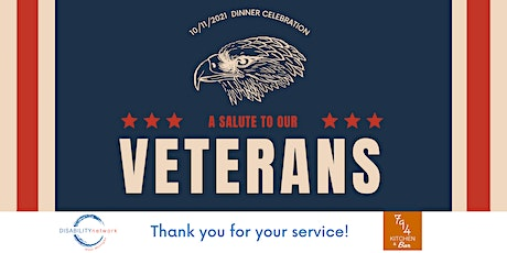 Veteran's Appreciation Dinner for  a Veteran and Their Guest tickets
